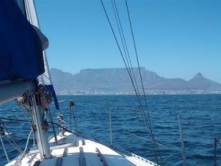 Boating at Cape Town