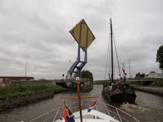 North Netherlands Cruise Part 5 – Leeuwarden to Sneek via Pikmeer and Sneekermeer