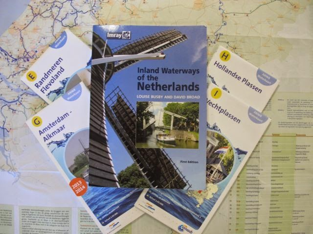 Planning the next trip – Netherlands waterway cruising.