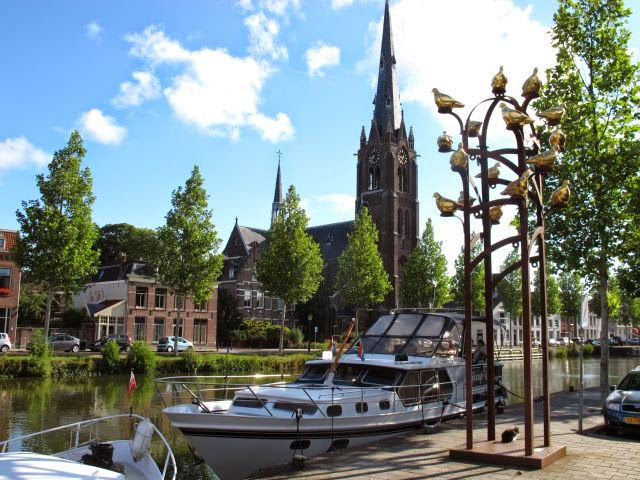Netherlands waterway cruise – Naarden to Weesp