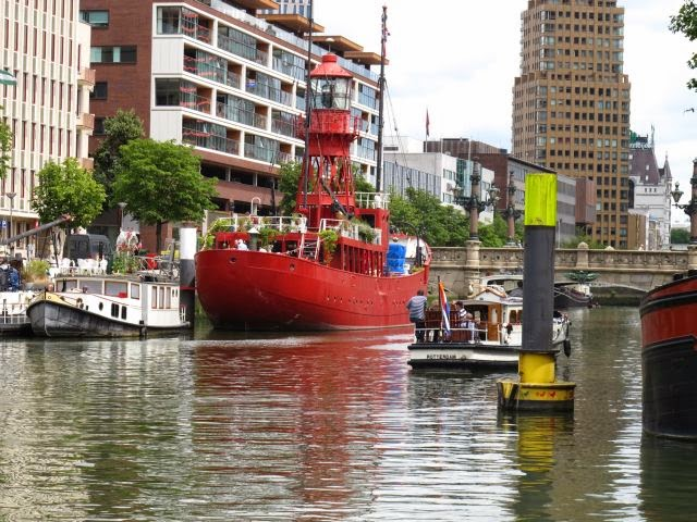 Netherlands waterway cruise – stopover in Rotterdam