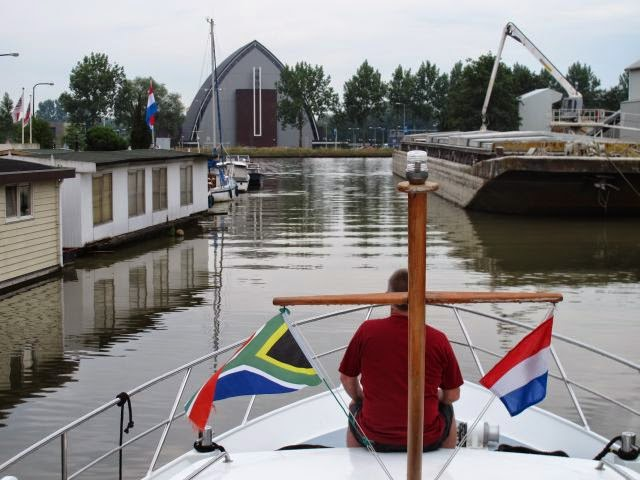 Netherlands Waterway Trip – Gouda to Rotterdam