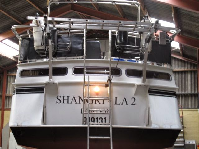Repairs and maintenance to Shangri La