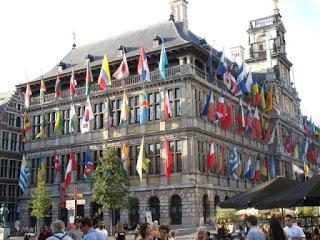 2015 European waterway cruise – Belgium – Antwerp