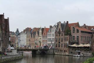 2015 European waterway cruise – Belgium – Ghent