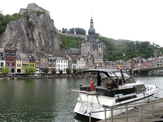 2015 European waterway cruise – Belgium – Namur to Dinant