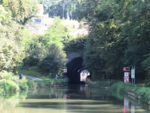Approaching Thoraise Tunnel