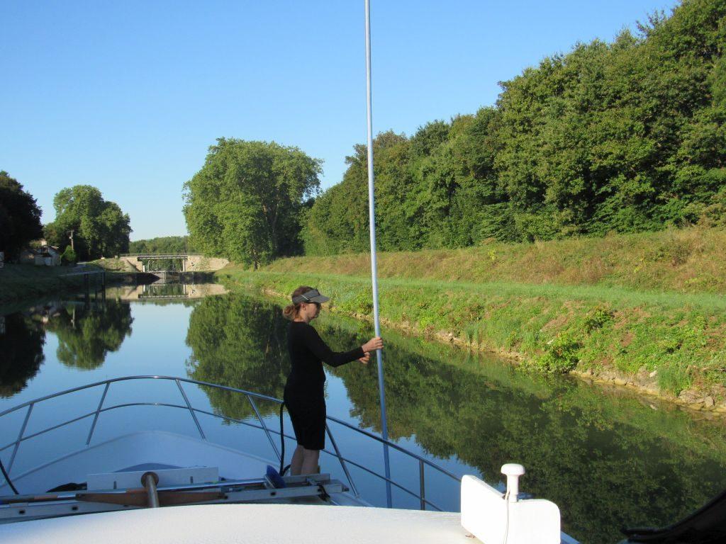 River Saone - last lock
