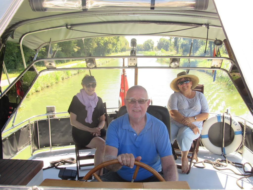 Motoring on the canal