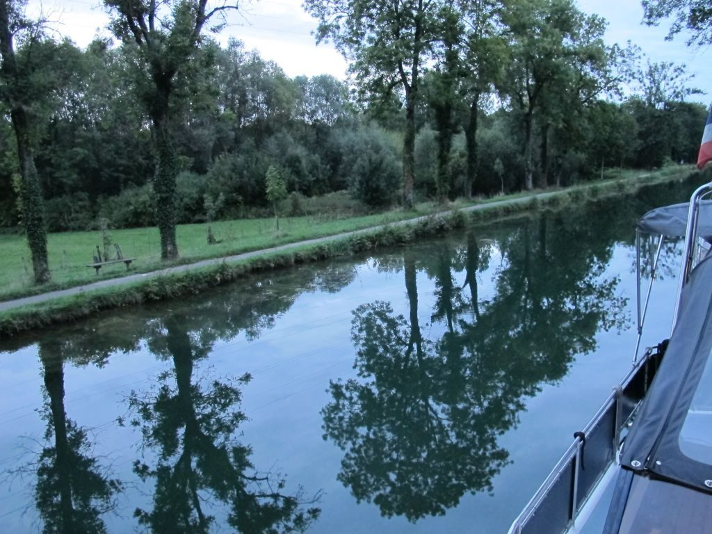 Reflections on the waterways