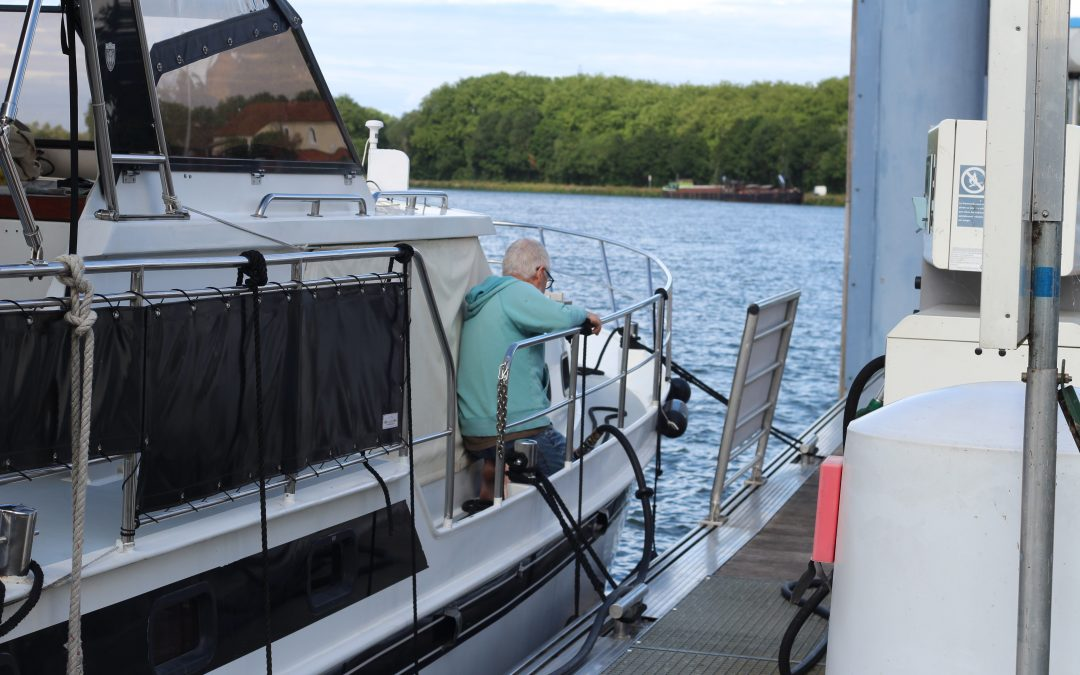 Preparations – and off down the Saone