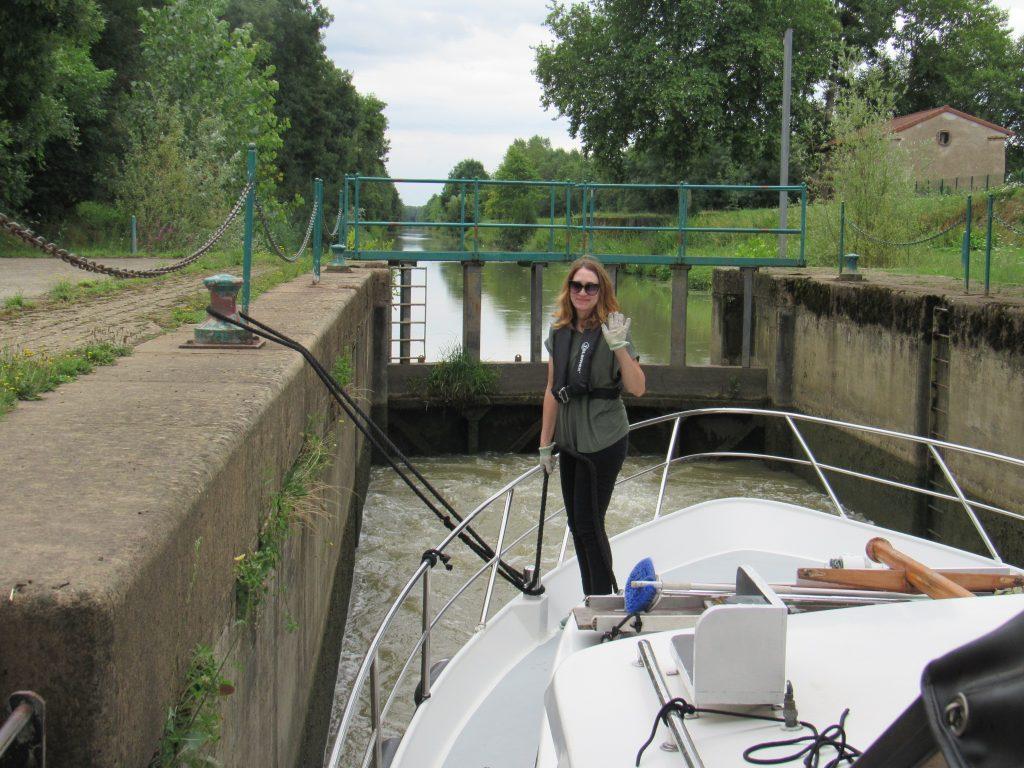Ecluse de Canal de Pont de Vaux