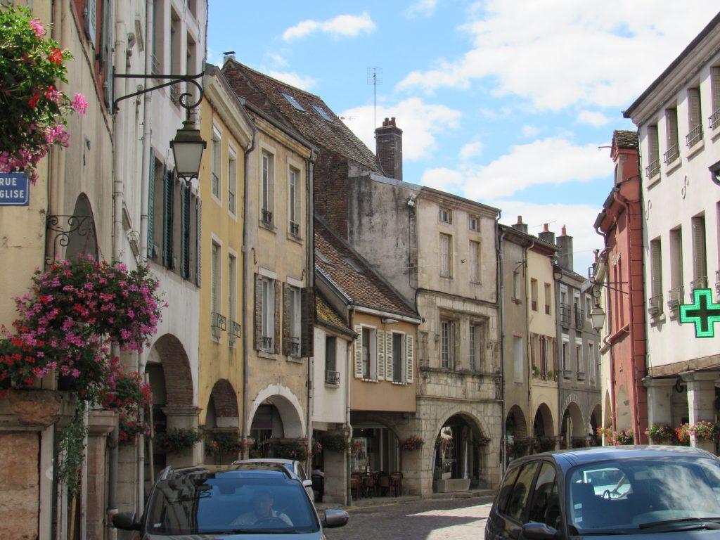 Louhans - city of arcades
