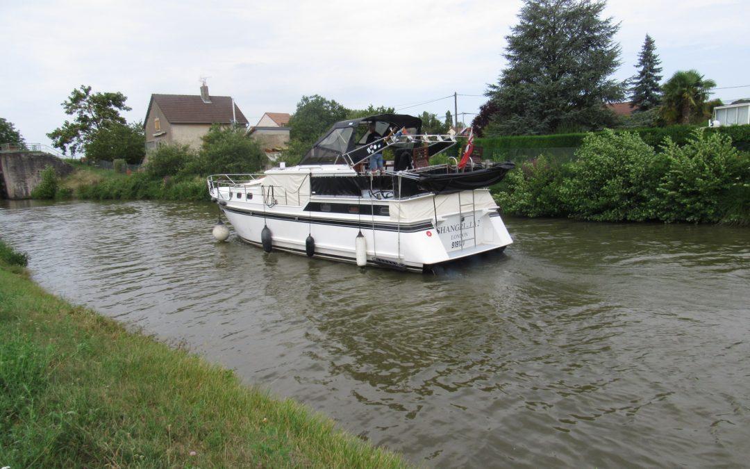 Chagny to St Leger-sur-Dheune – Canal du Centre