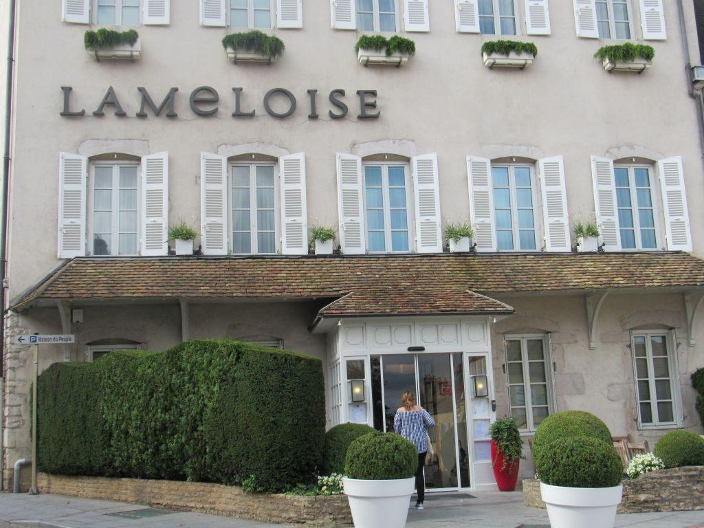 Chagny - Lameloise - 3 Michelin Star restaurant