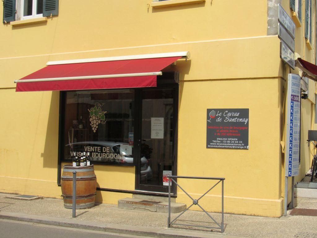 Santenay wine cellar