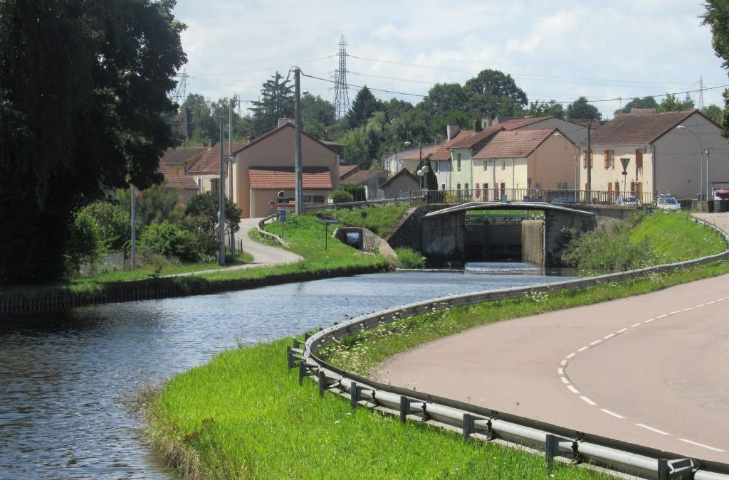 Canal du Centre – St Leger to Montchanin