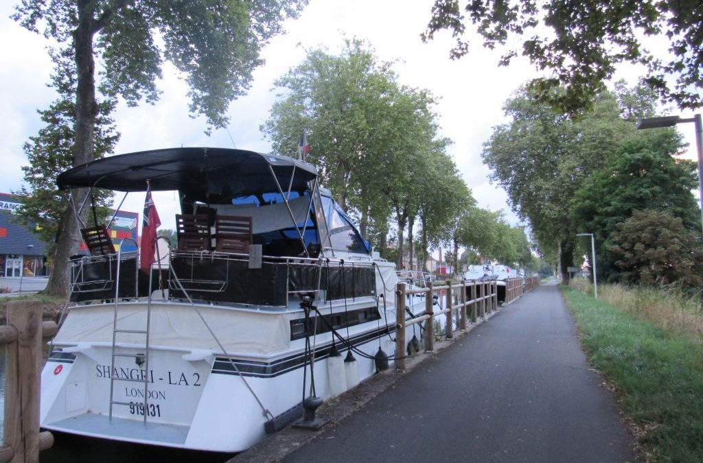 Vegan Barging in France