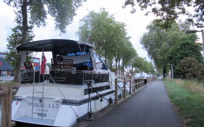 Vegan Barging in France