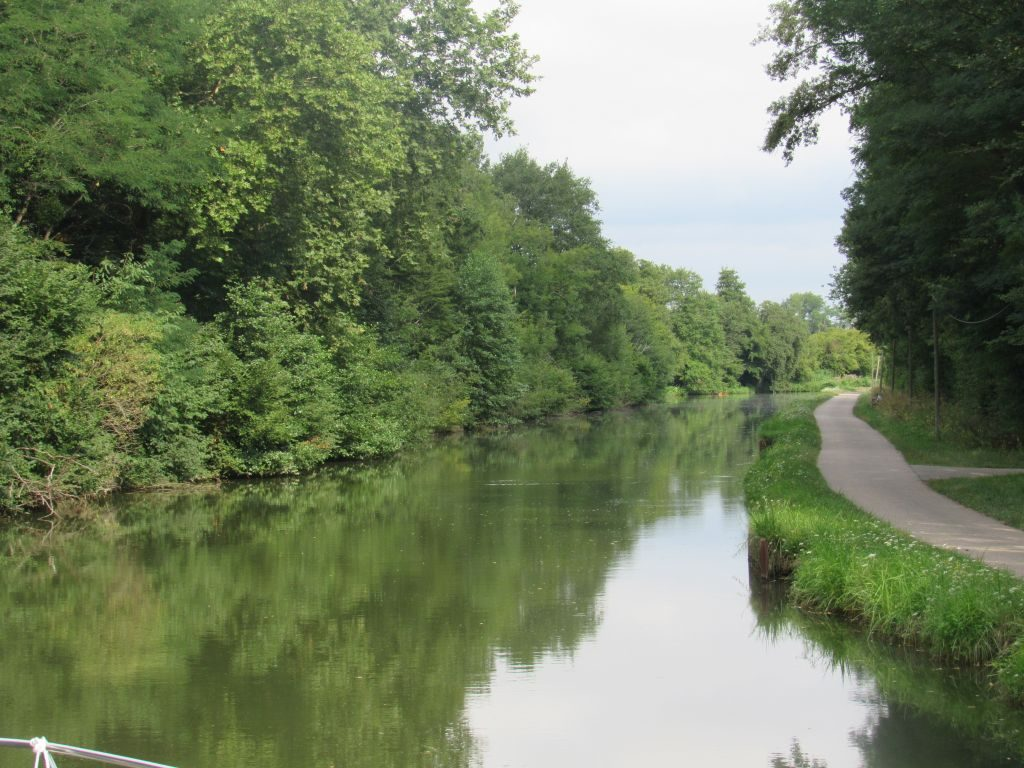 Canal du Centre - Paray to Digoin