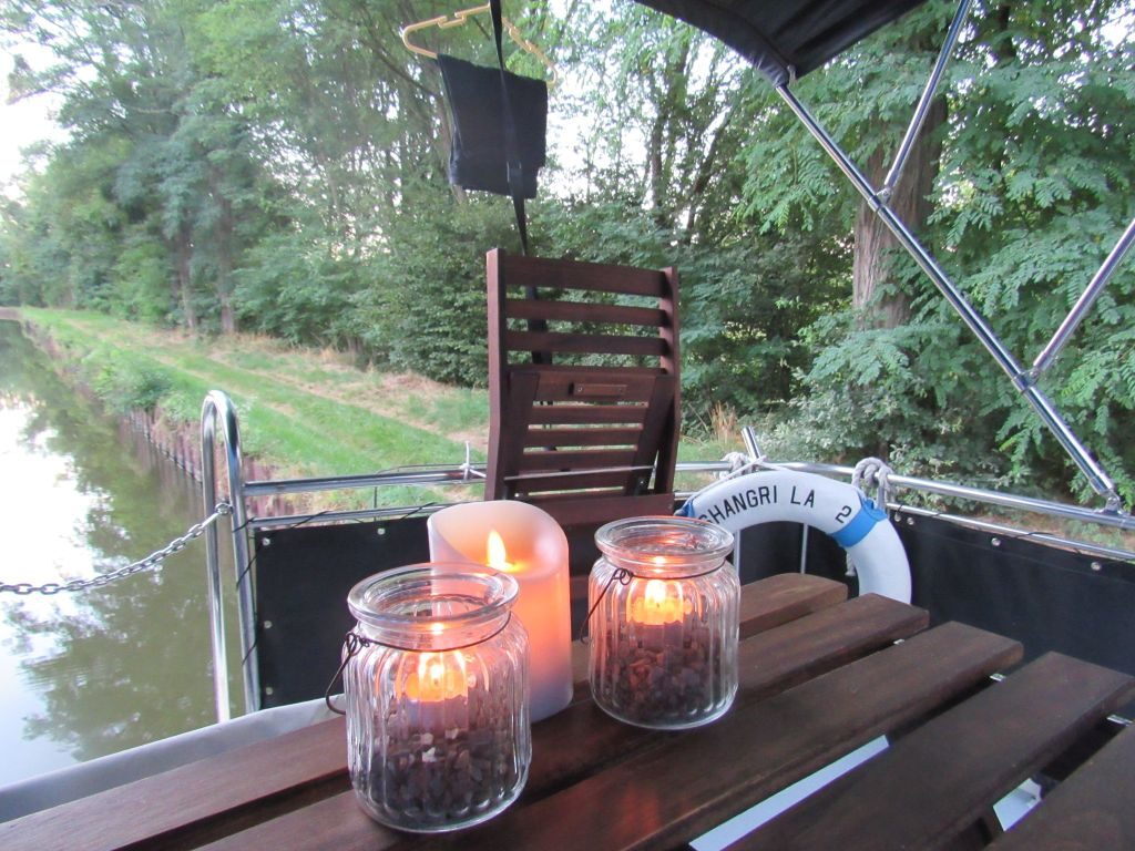 Evening by candlelight