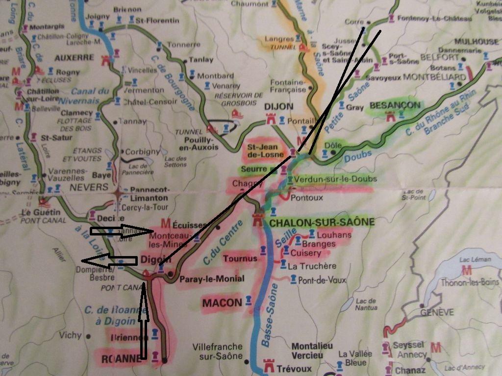 2018 travel plan map
