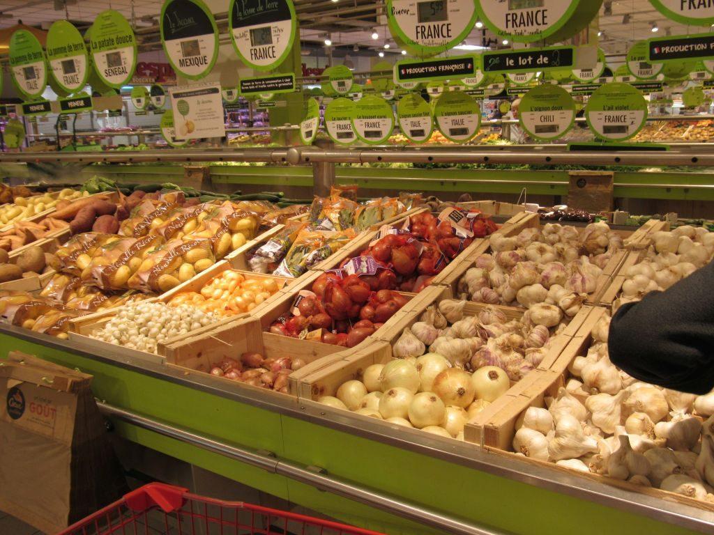 Food Market in Roanne
