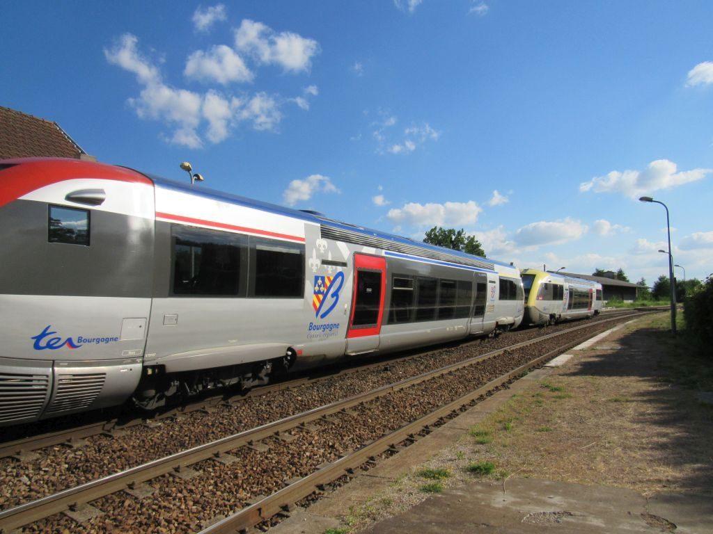 Train at St Leger