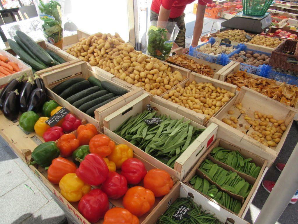 Chagny market