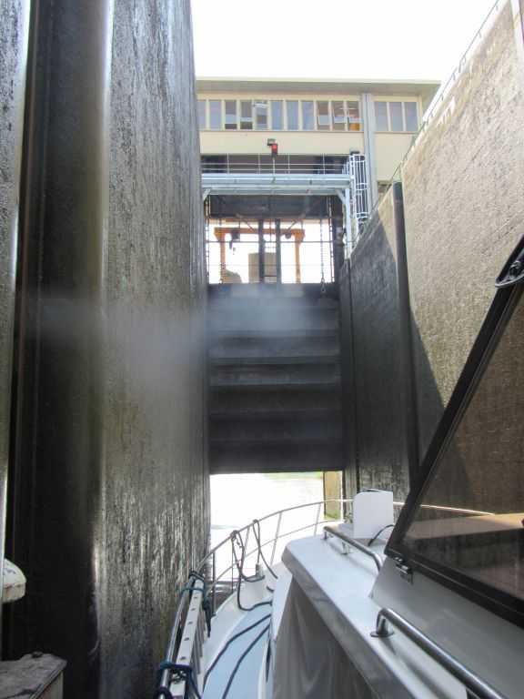 Deep lock - Fragnes to Chalon