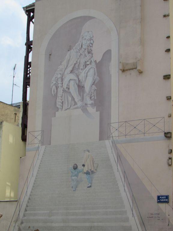 Wall art in Chalon sur Saone
