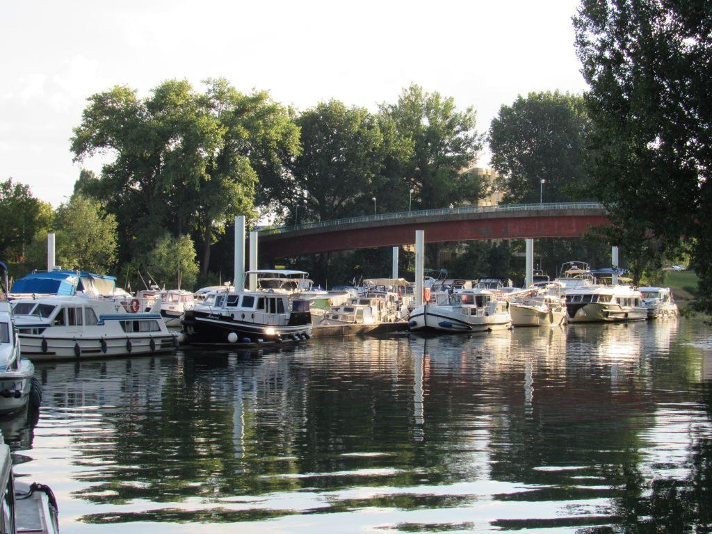 Marina at Chalon-sur-Saone