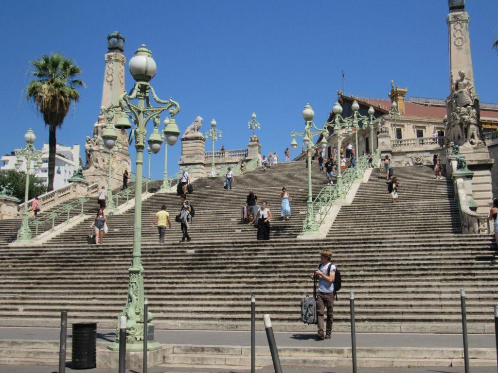 Marseille - Grande Escalier
