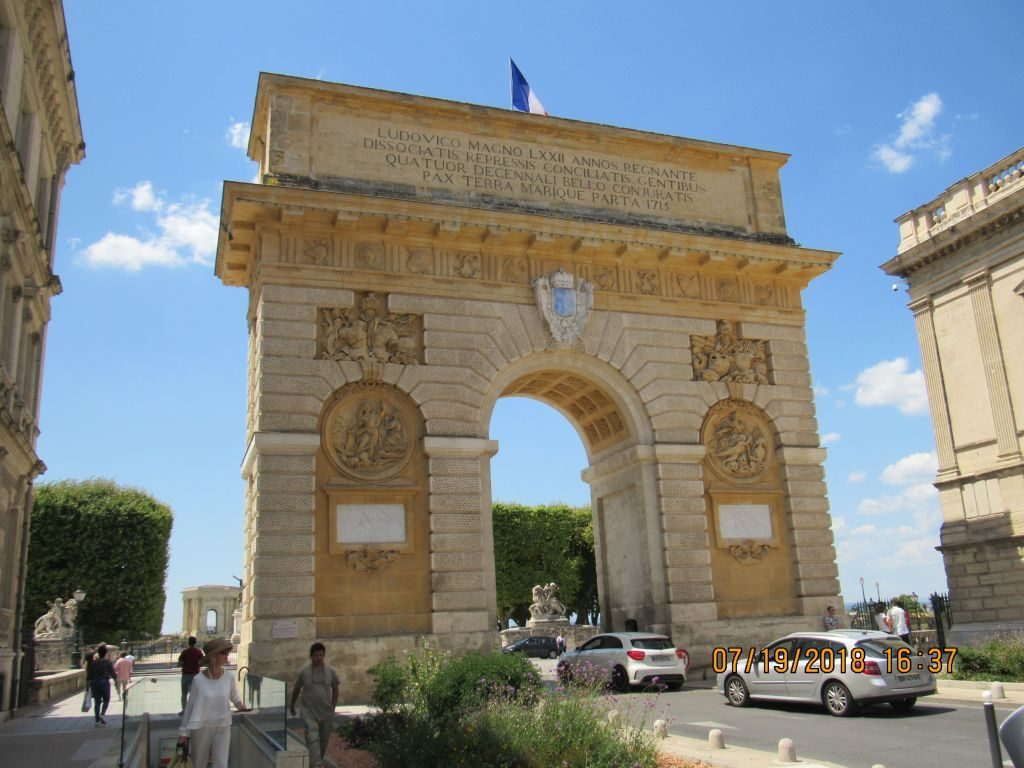 Montpellier's own Arc de Triomf