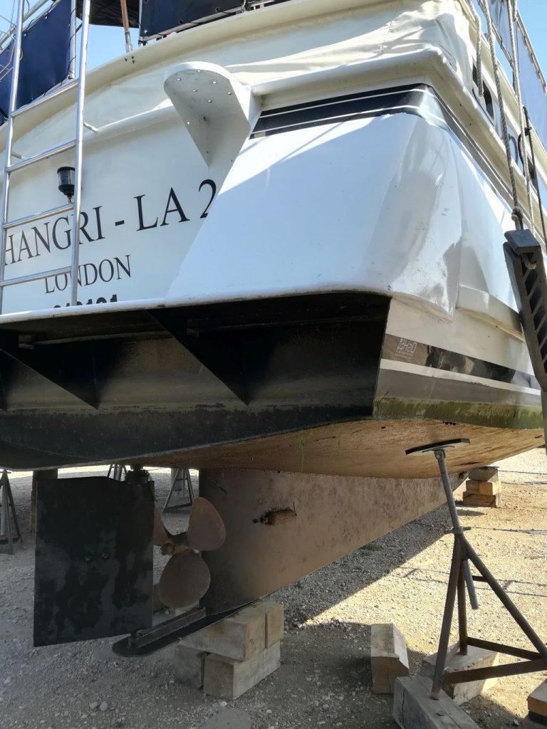 Shangri La hull condition