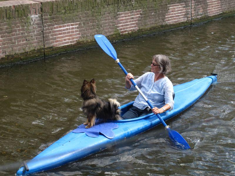 Alkmaar-canoeist
