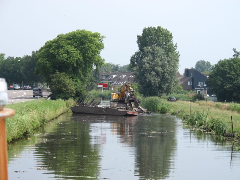 Dredger on the Trekvaart