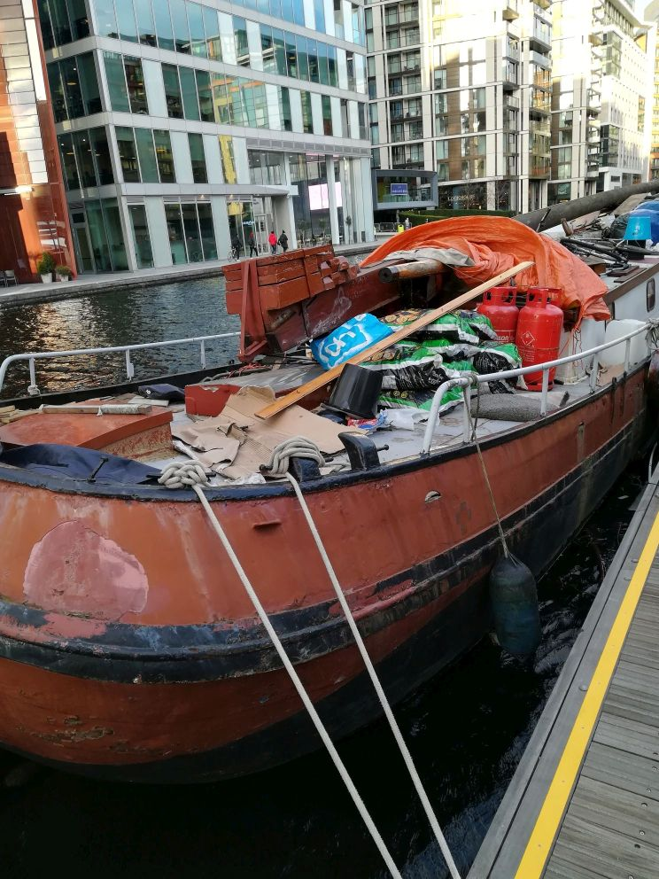 Paddington Arm - What a mess