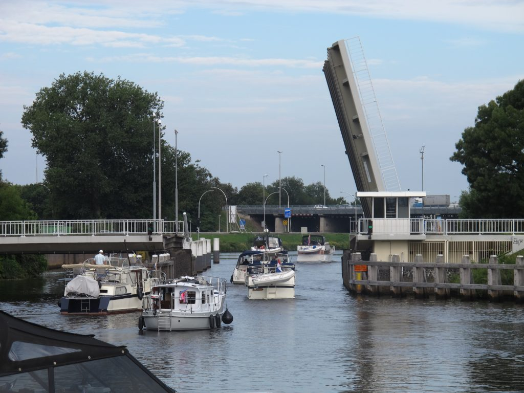 Lift bridge at Zwolle