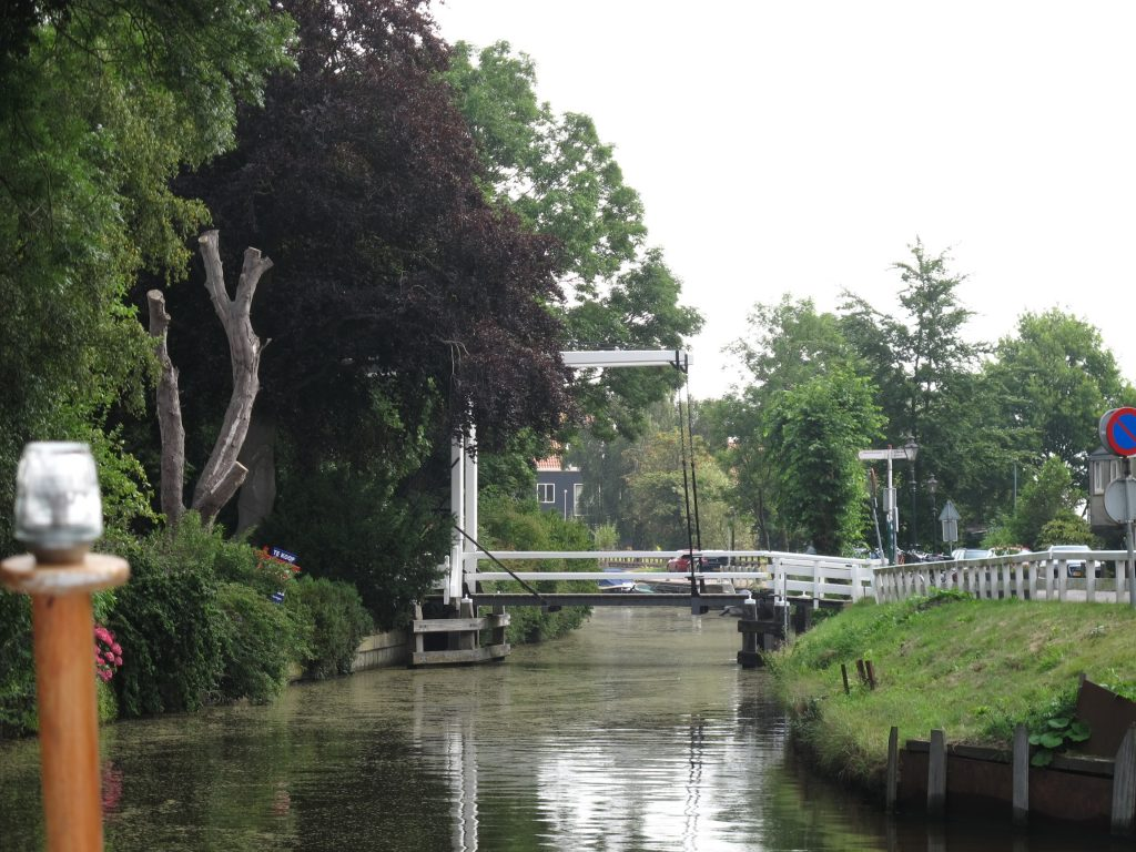 Lift Bridge at Broek in Waterland