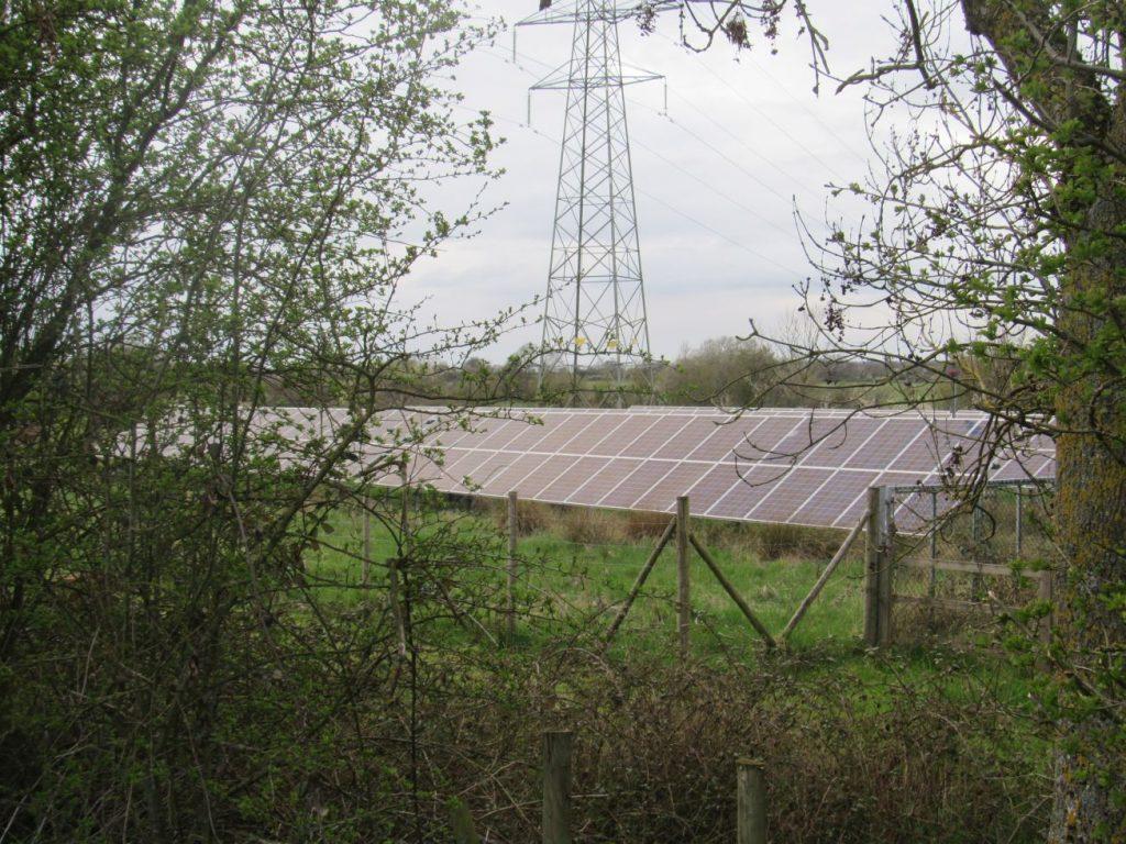 Caen Hill Locks Solar Array